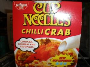 Chilli Crab Noodles