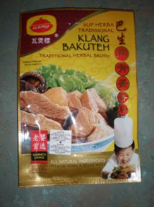 Klang Bak Kut Teh(Klang is a city in Malaysia, often considered the Home of Bak Kut Teh)