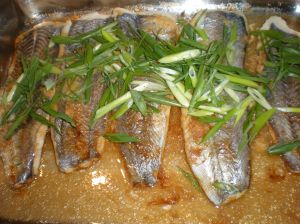 Fish with Ginger and Spring Onions