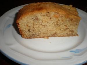 Coffee Walnut Cake Slice
