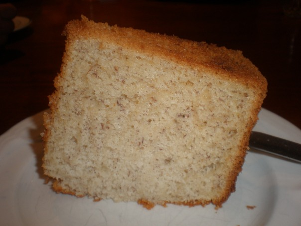 Could have been lighter (Yes, I realise that 'light' and 'banana cake' don't go together!)