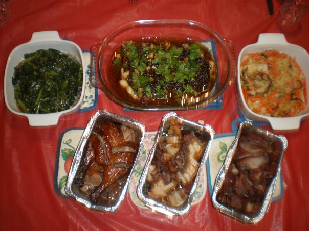 CNY Eve Dinner 2014