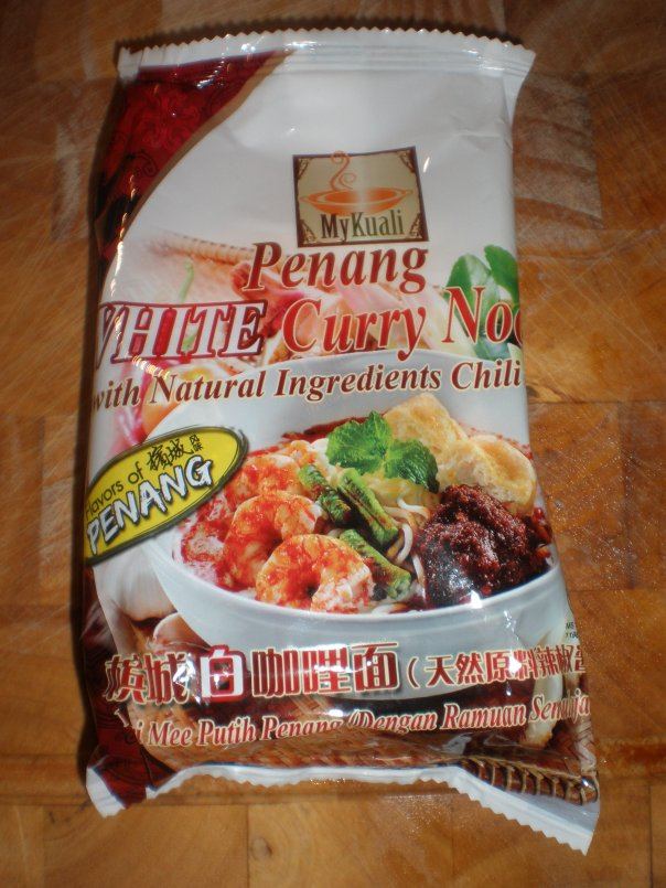 Penang White Curry Noodles - Individual Packet (comes in a pack of 4)