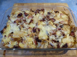 Egg-and-Bacon Breakfast Casserole Wake up to yummy goodness.