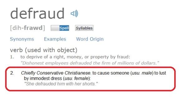 Defraud