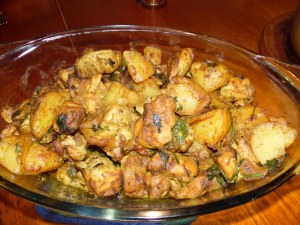 Bengali Chicken Curry with Potatoes (I doubled the recipe)