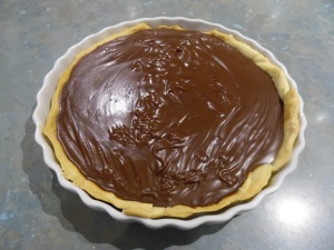 Chocolate Cream Pie for dessert