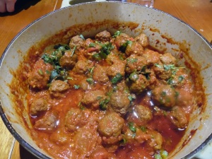 Easy Meatball Curry