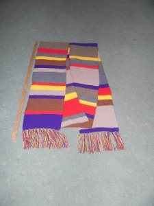 Doctor Who Season 12 Scarf