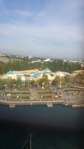 View from Mickey's Fun Wheel