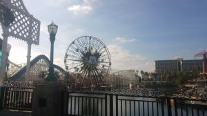 Mickey Fun Wheel and California Screamin'.