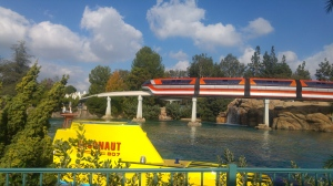Finding Nemo Submarine Ride and the Monorail