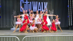 Performance at Universal Studios City Walk