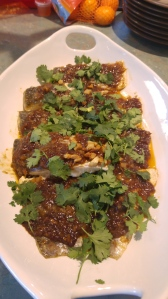 Fish in Cheong Cheng Sauce